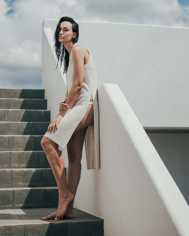 Location fashion photography by London editorial fashion photographer Ira Giorgetti